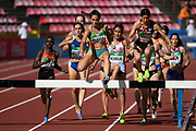 Illustration in 3000 Metres Steeplechase Women during the IAAF World U20 Championships 2018 at Tampere in Finland, Day 1, on July 10, 2018 - Photo Julien Crosnier / KMSP / ProSportsImages / DPPI