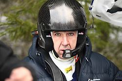 12.02.2015, Raga, Karlstad, SWE, FIA, WRC, Schweden Rallye, im Bild Michael Solowow (M-Sport World Rallye Team/Fiesta RS WRC) // during the WRC Sweden Rallye at the Raga in Karlstad, Sweden on 2015/02/12. EXPA Pictures © 2015, PhotoCredit: EXPA/ Eibner-Pressefoto/ Bermel<br /> <br /> *****ATTENTION - OUT of GER*****