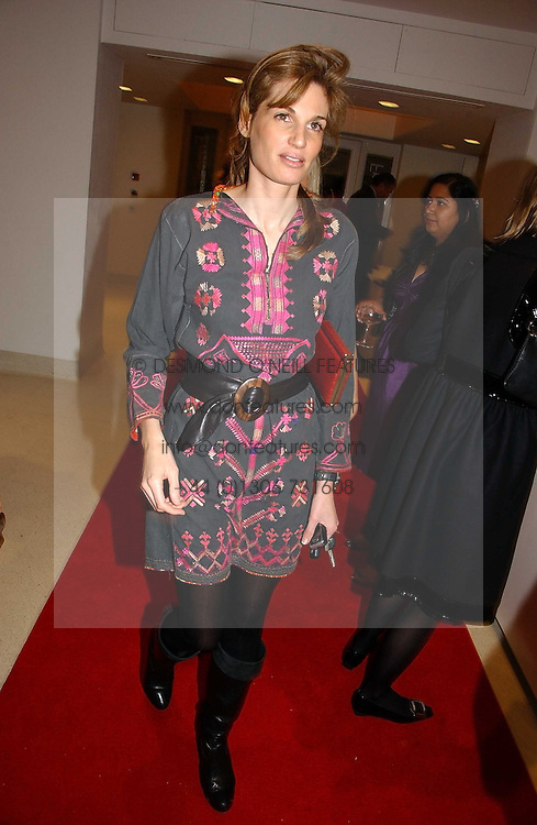 JEMIMA KHAN at a party to celebrate the 90th birthday of Vogue magazine held at The Serpentine Gallery, Kensington Gardens, London on 8th November 2006.<br />