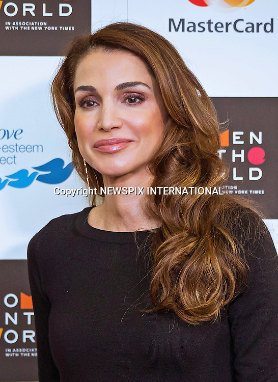 08.10.2015; London, UK: QUEEN RANIA AND PRINCESS BEATRICE<br />attend the Women in the World Annual Summit at the Cadogan Hall, London<br />Women in the World has resolved to give a platform to global women and the summit has become the premier showcase for women.<br />Mandatory Photo Credit: &copy;Royal Hashemite Court/NEWSPIX INTERNATIONAL<br /><br />**ALL FEES PAYABLE TO: &quot;NEWSPIX INTERNATIONAL&quot;**<br /><br />PHOTO CREDIT MANDATORY!!: NEWSPIX INTERNATIONAL(Failure to credit will incur a surcharge of 100% of reproduction fees)<br /><br />IMMEDIATE CONFIRMATION OF USAGE REQUIRED:<br />Newspix International, 31 Chinnery Hill, Bishop's Stortford, ENGLAND CM23 3PS<br />Tel:+441279 324672  ; Fax: +441279656877<br />Mobile:  0777568 1153<br />e-mail: info@newspixinternational.co.uk