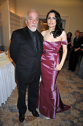 RENU MEHTA founder of Fortune Forum and PAULO COELHO at the 3rd Fortune Forum Summit held at The Dorchester Hotel, Park Lane, London on 3rd March 2009.