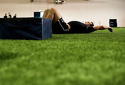 Will Spencer of Worcester Warriors  - Mandatory by-line: Joe Meredith/JMP - 27/01/2014 - RUGBY - Worcester Warriors - Pre-season training session