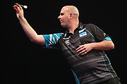 Rob Cross during the Grand Slam of Darts, at Aldersley Leisure Village, Wolverhampton, United Kingdom on 11 November 2019.