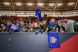 Bristol Rugby fans in the stands - Mandatory byline: Rogan Thomson/JMP - 06/11/2015 - RUGBY UNION - Ashton Gate Stadium - Bristol, England - Bristol Rugby v Doncaster Knights - Greene King IPA Championship.