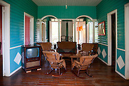 TV room in Biran, Holguin, Cuba.