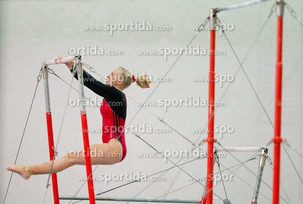 Ana Cikac during Slovenian Artistic Gymnastics National Chapionship 2011, on November 20, 2011 in GIB Arena, Ljubljana, Slovenia. (Photo By Vid Ponikvar / Sportida.com)