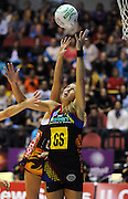 BOP Magic's Irene van Dyk.<br /> ANZ Netball Championship, Queensland Firebirds v BOP Magic, Semi Final. Gold Coast Convention Centre, Gold Coast, Australia, Monday 9 May 2011. Photo: Andrew Cornaga/photosport.co.nz