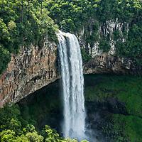 Cascata do Caracol, Parque Estadual do Caracol, Canela, Rio Grande do Sul, foto de Zé Paiva - Vista Imagens