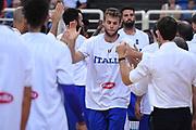 Nicolo Melli<br /> Nazionale Italiana Maschile Senior<br /> Torneo dell Acropolis<br /> Italia Serbia Italy Serbia<br /> FIP 2017<br /> Atene, 23/08/2017<br /> Foto M.Ceretti / Ciamillo - Castoria