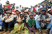 People listen to the reading of the surgery list during Operation Smile's mission in Antsirabe, Madagascar May 24, 2008.  ( Rohanna Mertens for Operation Smile  )