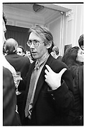 Ian McEwan, A book launch at the Polish club 1991. SUPPLIED FOR ONE-TIME USE ONLY> DO NOT ARCHIVE. © Copyright Photograph by Dafydd Jones 66 Stockwell Park Rd. London SW9 0DA Tel 020 7733 0108 www.dafjones.com