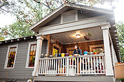 Jennifer Kuzara and her parents bought a foreclosed Atlanta home for under $50,000 and completely renovated the three bedroom, 2 bathroom home. She said the home-buying and renovating process became a full-time job for the past year. She is seen at the home October 27, 2010.
