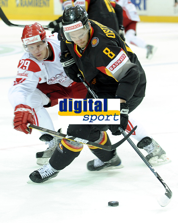 Morten Madsen (DEN) gegen Sebastian Osterloh (GER) © Melanie Duchene/EQ Images