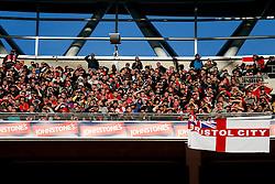 Bristol City fans in the stands - Photo mandatory by-line: Rogan Thomson/JMP - 07966 386802 - 22/03/2015 - SPORT - FOOTBALL - London, England - Wembley Stadium - Bristol City v Walsall - Johnstone's Paint Trophy Final.