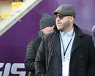 Eric Perez (Founder  and CEO) of Toronto Wolfpack during the Betfred Championship match at Leigh Sports Village, Leigh<br /> Picture by Stephen Gaunt/Focus Images Ltd +447904 833202<br /> 04/02/2018