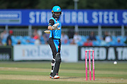 Callum Ferguson of Worcestershire Rapids during the Natwest T20 Blast North Group match between Derbyshire County Cricket Club and Worcestershire County Cricket Club at the 3aaa County Ground, Derby, United Kingdom on 8 July 2018. Picture by Mick Haynes.