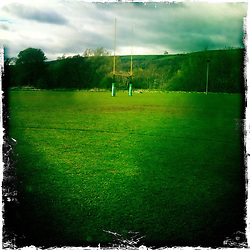 Rugby post..Hipstamatic images taken on an Apple iPhone..©Michael Schofield.