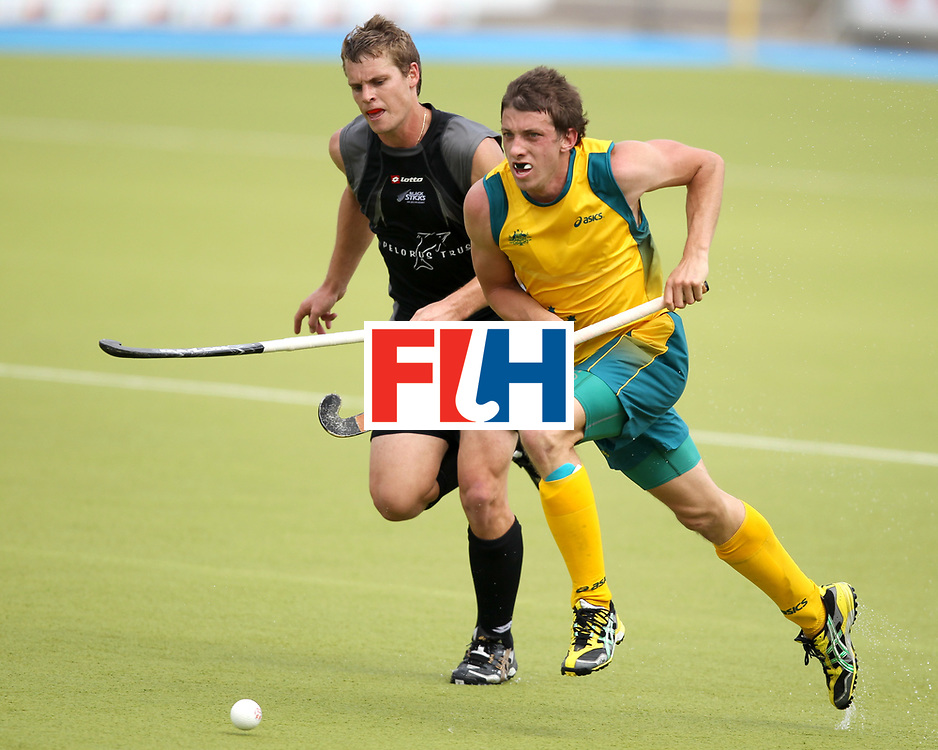 Mens Champions Trophy, Monchengladbach, Germany, 2010<br /> Australia v New Zealand Day 1<br /> Simon Orchard<br /> Credit: Grant Treeby<br /> <br /> Editorial use only (No Archiving) Unless previously arranged