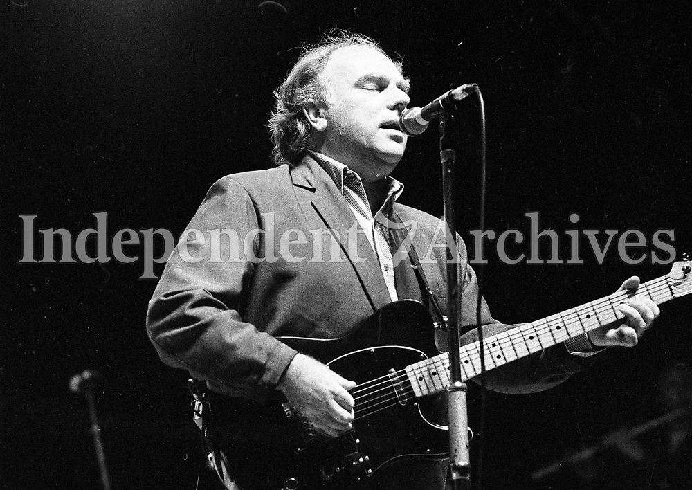Headlining act Van Morrison performing during the Feile Festival in Thurles, 01/08/1990 (Part of the Independent Newspapers Ireland/NLI Collection).