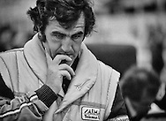 Brian Henton epitomized racing drivers who exceled in other formulas but, had their careers crushed by uncompetitive F1 cars. <br /> <br /> Here, in 1981, he struggles with the underfunded Rory Byrne-designed, Hart turbo-engined TG181 Toleman. <br /> <br /> Henton had dominated the 1980 Formula 2 season, with the Toleman Group and followed them into Formula One the next season.<br /> <br /> He failed to qualify in all, but one race and was dropped by the team at the end of the season. The Toleman team would come right by 1984, hiring Ayrton Senna and finishing second at Monaco. <br /> <br /> When Senna left for Lotus in 1985, the team floundered and was sold to Benetton in 1986.