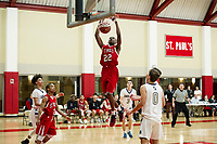 St Pauls School boys basketball.  ©2018 Karen Bobotas Photographer