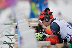 CHOKHLAEV Stanislav Guide: PIROGOV Maksim, Biathlon at the 2014 Sochi Winter Paralympic Games, Russia