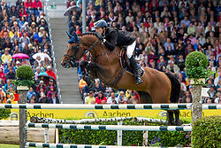 Kreuzer Andreas (GER) - Chacco-Blue<br /> World Equestrian Festival, CHIO Aachen 2011<br /> © Dirk Caremans