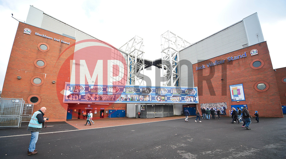 A general view of the Jack Walker Stand at Ewood Park ahead of the FA Cup 5th Round tie between Blackburn Rovers and Stoke City - Photo mandatory by-line: Matt McNulty/JMP - Mobile: 07966 386802 - 14/02/2015 - SPORT - Football - Blackburn - Ewood Park - Blackburn Rovers v Stoke City - FA Cup - Fifth Round