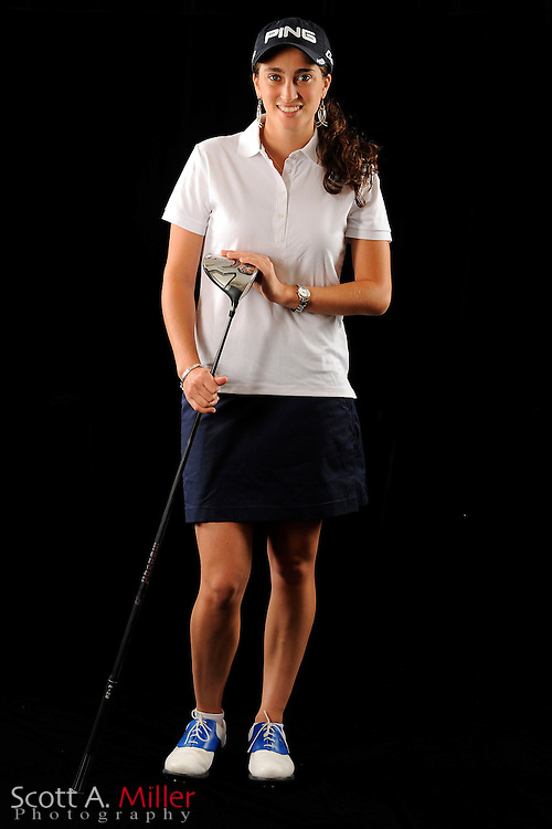 Macarena Silva during a portrait shoot prior to the Symetra Tour's Florida's Natural Charity Classic at the Lake Region Yacht and Country Club on March 20, 2012 in Winter Haven, Fla. ..©2012 Scott A. Miller.