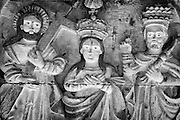 Detail of an old Catholic altar.