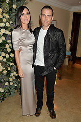 LINZI STOPPARD and WILL STOPPARD at a private view of the Beulah Winter Autumn Winter collection entitled 'Chrysalis' held at The South Kensington Club, London SW7 on 24th September 2015.