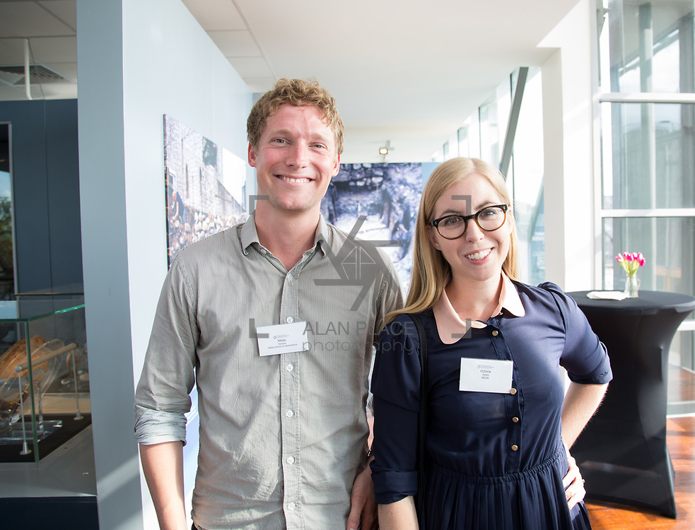 19.06. 2017.                                             <br /> University of Limerick hosts the 5th Global Conference on Transparency Research.<br />  Attending the launch of the event in King Johns Castle were, Niklas Kossow, Hertie School of Governance and Victoria Dykes, ERCAS. Picture: Alan Place