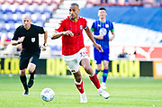 Charlton Athletic midfielder Darren Pratley in action during the EFL Sky Bet Championship match between Wigan Athletic and Charlton Athletic at the DW Stadium, Wigan, England on 21 September 2019.