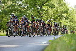 The gap looks too big for the peloton to close as the race enters the final 3 km at the 141 km road race of the UCI Women's World Tour's 2016 Crescent Vårgårda women's road cycling race on August 21, 2016 in Vårgårda, Sweden. (Photo by Sean Robinson/Velofocus)