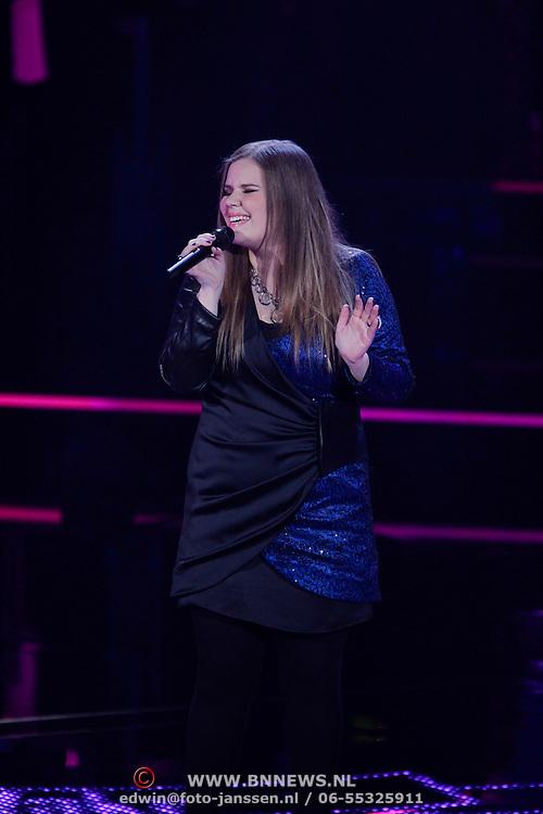NLD/Hilversum/20120120 - Finale the Voice of Holland 2012, Iris Kroes