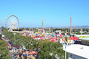 A View From Above Of The OC Fair In Costa Mesa California