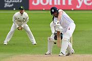 Matt Critchley of Derbyshire during the Bob Willis Trophy match between Nottinghamshire County Cricket Club and Derbyshire County Cricket Club at Trent Bridge, Nottingham, United Kingdon on 4 August 2020.
