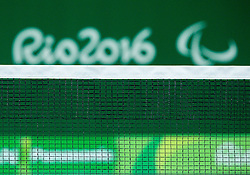 Feature during Day 8 of the Rio 2016 Summer Paralympics Games on September 15, 2016 in Olympic Tennis Centre, Rio de Janeiro, Brazil. Photo by Vid Ponikvar / Sportida