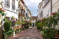 Old Town, Casco Antiguo, Estepona, Spain, 201903080455<br />