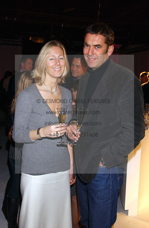 SUSIE FORBES editor of Easy living magazine and BILL AMBERG the bag designer at a party to celebrate the launch of You Magazine as a paid for weekly held at 2-5 Rupert Street, London W1 on 14th March 2006.<br /><br />NON EXCLUSIVE - WORLD RIGHTS