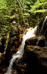 New Hampshire: Franconia Notch, The Flume. Photo #: nhappa105..Photo copyright Lee Foster, www.fostertravel.com, 510/549-2202, lee@fostertravel.com
