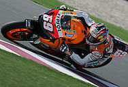 American Nicky Hayden finished second, Commercial Bank Grand Prix of Qatar, MOTO GP class, Losail International Circuit, 8 April 2006