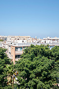 The rooftops of Jaffa., Israel. Looking west over Jerusalem Boulevard