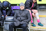 Forest Green Rovers manager, Mark Cooper during the EFL Sky Bet League 2 match between Forest Green Rovers and Luton Town at the New Lawn, Forest Green, United Kingdom on 16 December 2017. Photo by Shane Healey.