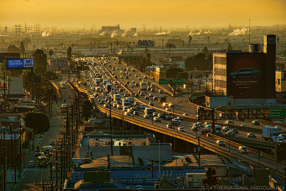 San Bernardino Freeway, Morning Commute