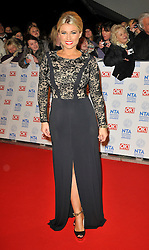 Sam Faiers Arrives At The annual National Television Awards 2013, O2 Arena, Greenwich, London, UK, January 23, 2013. Photo by i-Images.