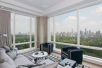 Living Room at 1 Central Park West