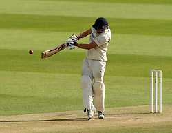 Durham's Scott Borthwick hits through the leg side - Photo mandatory by-line: Robbie Stephenson/JMP - Mobile: 07966 386802 - 03/05/2015 - SPORT - Football - London - Lords  - Middlesex CCC v Durham CCC - County Championship Division One