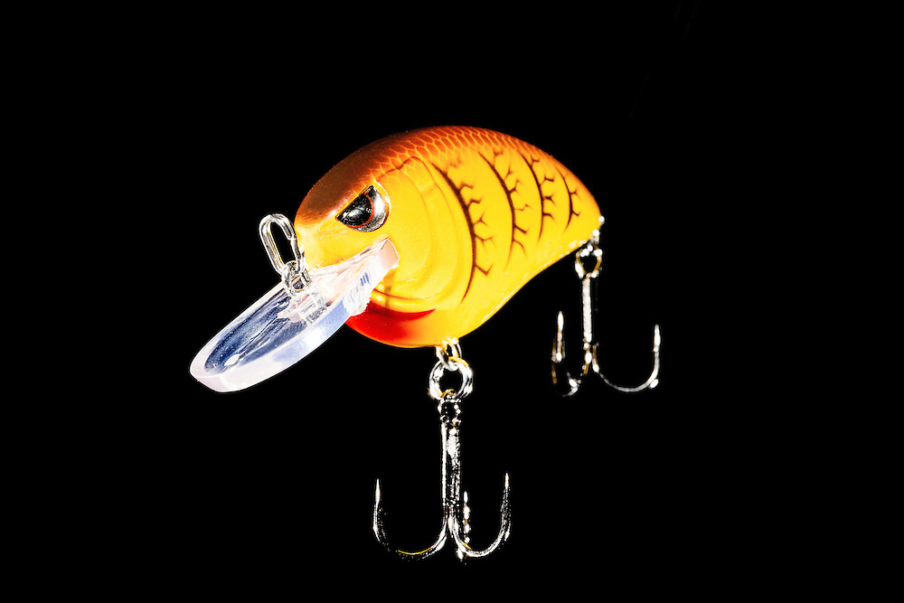 Studio Photographs of Fishing Lures