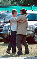 Steve Craddock and Liam Gallagher / V Festival 2000, Hylands Park, Chelmsford, Essex, Britain - August 2000.
